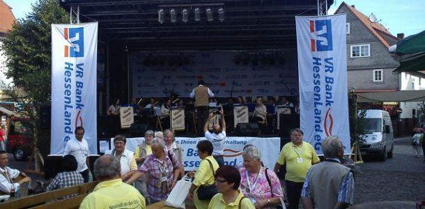 Bühnenbilder vom internationalen Neustadt-Treffen 2011